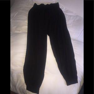 H&M elastic waist knit pants size small